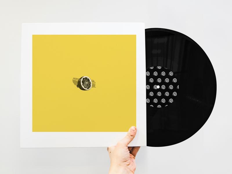 Lemonade Concept Album Art yellow pattern vinyl cover vinyl record music art cover cover art music album design album cover design ui uidesign beyonce music album art album cover