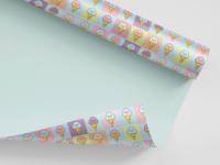 Ice Cream Gift Wrap