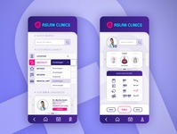 Medical app template health app patient app doctor app medical app adobe xd application app design ux design ui design ui  ux