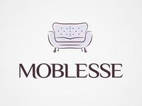 Luxury sofas logo design