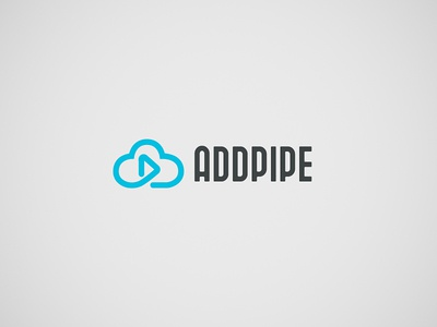 Logo design for a video cloud streaming application