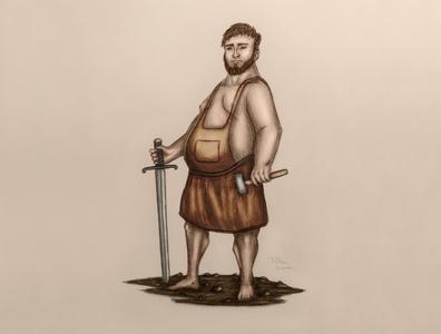 Blacksmith character design