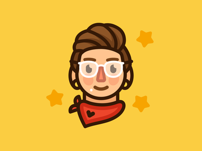 JAN21 Selfie illustration vector portrait selfie avatar