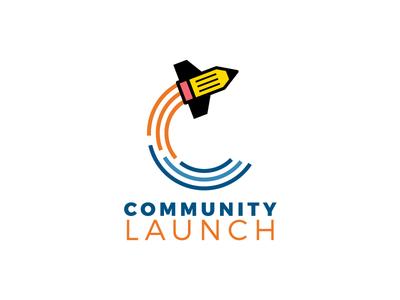 TCSC Community Launch Logo tennessee school education charter launch community pencil logo