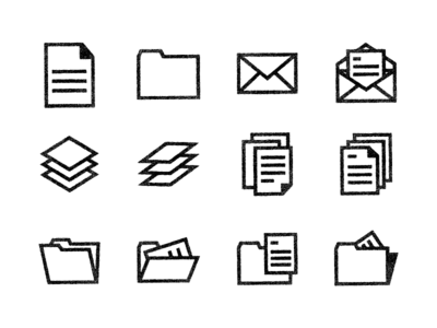 Paper Icons