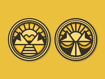 Justice Coins branding economic logo design justice coin