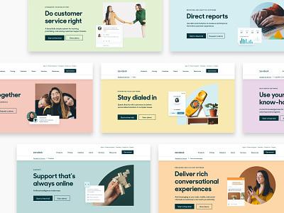 Zendesk Capabilities 2021 Art Direction & Design system design web design graphic design design art direction branding