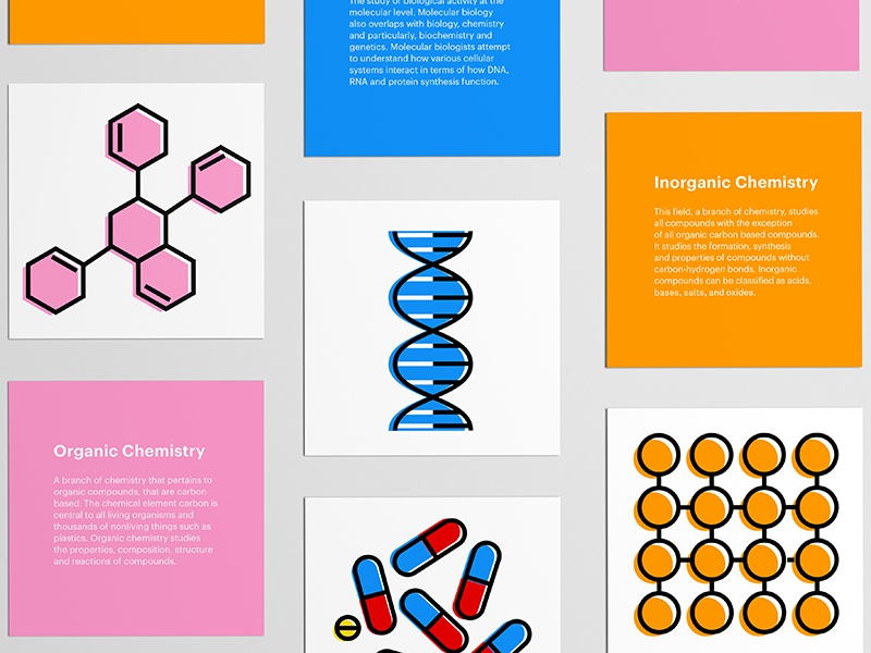 The Sciences science color colorful icon illustration graphic graphic design