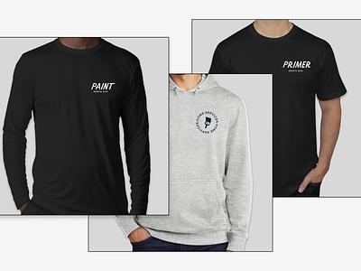 Mock'd UP ⬆⬆ hiring product design design merch custom lettering paint logo apparel branding custom swag