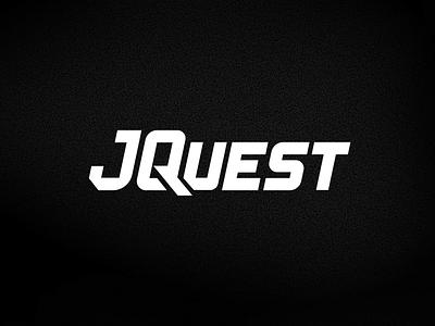 Logo for personal training business: J-Quest Fitness quest branding fitness custom type personal trainer illustrator design brand identity logo design training