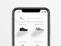 Sneaker Launch Calendar