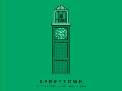 Ann Arbor Kerrytown Clock Tower