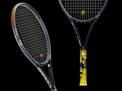 Death Stranding Racquet font logo design simple type cover illustration ui branding typography sports kojima stranding death video game game product tennis
