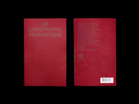 Of Catastrophic Proportions Zine