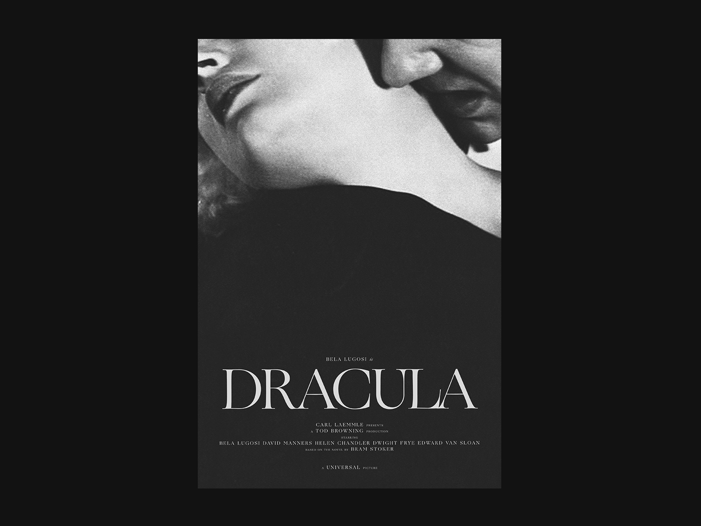 Dracula (1931) by Danny Rutledge on Dribbble