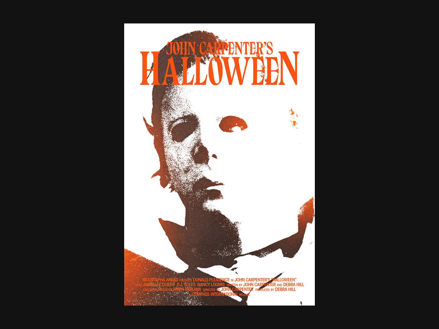 Halloween 1978 Movie Poster.Halloween 1978 By Danny Rutledge On Dribbble