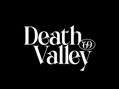 Death Valley '69 store poster art poster challenge poster a day movie branding poster film logo product experiment typography cover font type illustration simple design