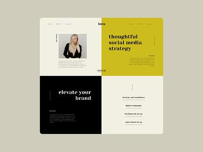 Squarespace Template Customization - Lora squarespace