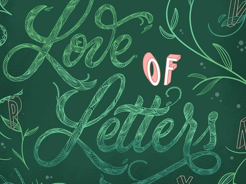 For the Love of Letters calligraphy design typography lettering procreate illustrator goodtype goodtypetuesday
