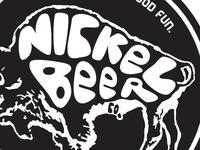 Nickel Beer Co. Brewery Logo