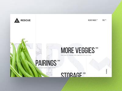 Healthy Tips Concept portfolio video california web design gif agency interaction animation web design ux ui