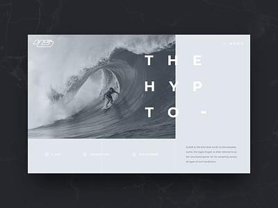 Hayden Shapes Concept surfboard surf hawaii digital portfolio video california web design gif agency interaction animation photography web design ux ui