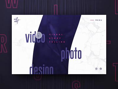 Bad Ideas with SVG typography branding vector logo digital portfolio video california web design gif agency interaction animation photography web design ux ui svg animation svg