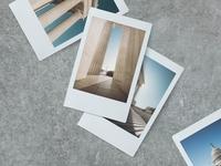 Polaroid PSD Mockup branding web design photography design template psd polaroid mockup