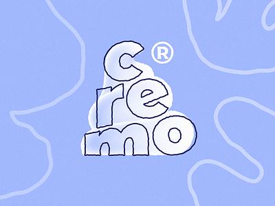 cremo illustraion branding concept branding design branding typography design cremo pattern design mark icon pattern logodesign logotype logo