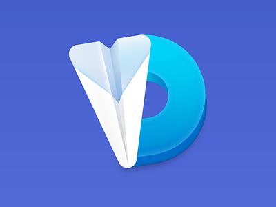Downie MacOS app icon arthur bauer zooom video load download d osx macos mac logo icon app