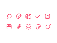 some icons for dating app part 2