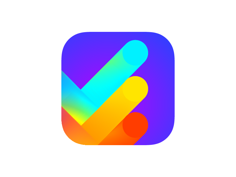 To do list iOS app icon (for sale) icon gradient buy ios app icon app icon task todo checkmarks