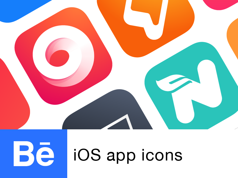 iOS app Icons | Behance project ios app icon icon ios ui ui design behance icon project