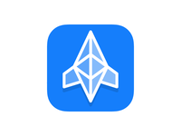 Cryptonaut iOS app icon concept
