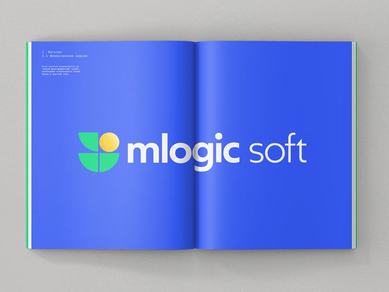 logo for mlogic soft style-guide mlogic soft logo design symbol mark dandelion module