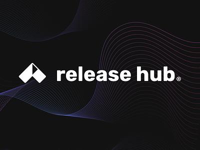 release hub logo design WIP
