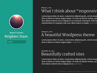 Another Wordpress blog theme