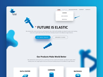 Landing for a startup ui ux web design webiste web homepage startup landing