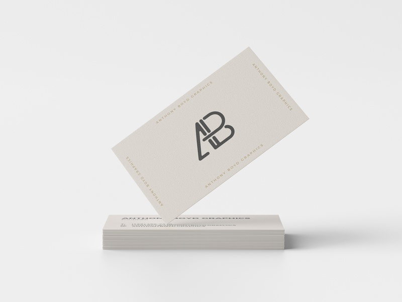 Business Card Mockup #5 business card branding freebie showcase psd free mockup