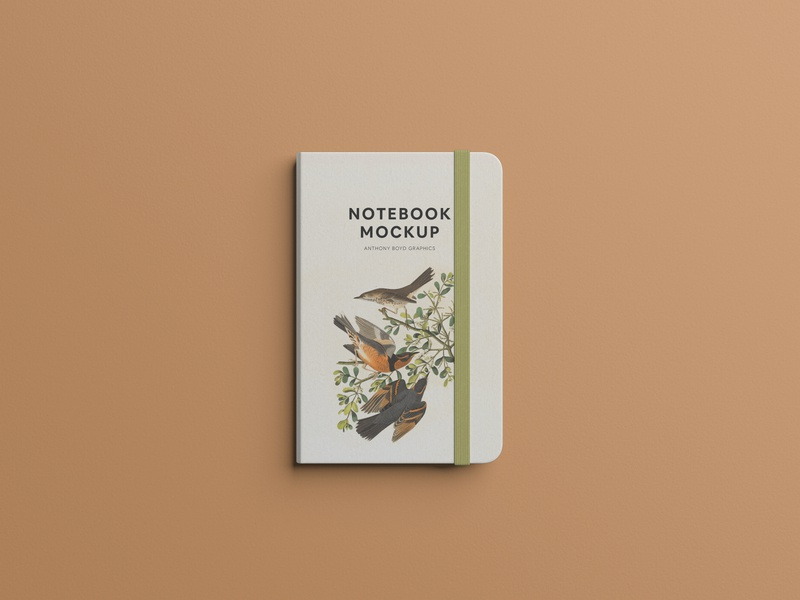 Notebook Mockup #2 branding freebie showcase psd free mockup notebook