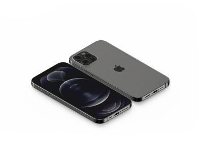 Isometric iPhone 12 Pro Mockup ios freebie showcase psd free mockup mobile smartphone iphone 12 iphone apple isometric