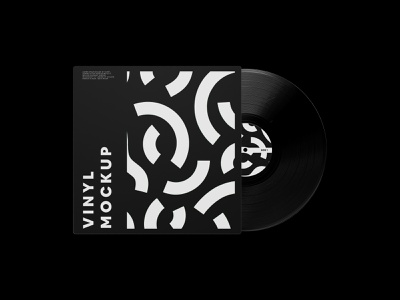 Vinyl Record Mockup showcase mockup psd free disc music record cover vinyl