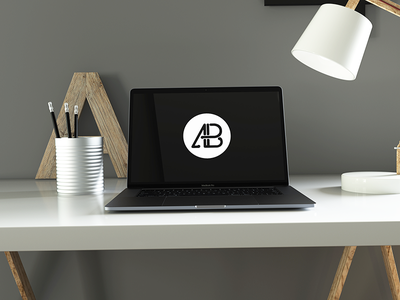 Realistic 2016 Space Gray MacBook Pro Mockup Vol.5 maxon thea render realistic laptop computer psd mockup macbook pro macbook apple