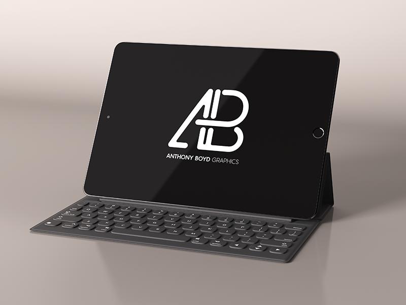 Realistic ipad pro mockup vol.3   anthony boyd graphics