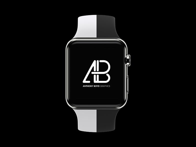 Realistic Apple Watch Series 2 Mockup Vol.3 mockups psd mockup free realistic mobile branding showcase smartwatch apple watch apple