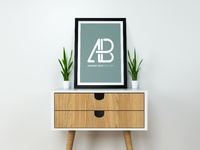 Realistic poster mockup vol.5   anthony boyd graphics