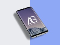 samsung galaxy s8 plus mockup psd prev 1   anthony boyd graphics - Samsung Galaxy S8 Plus Mockup With changeable Background