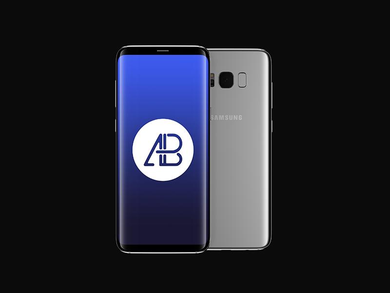 Samsung Galaxy S8 Plus Mockup Psd Vol.2 free smartphone showcase screen psd mockups mock up plus android s8 galaxy samsung