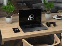 Macbook Pro 2016 PSD Mockup   Anthony Boyd Graphics - Macbook Pro 2016 PSD Mockup