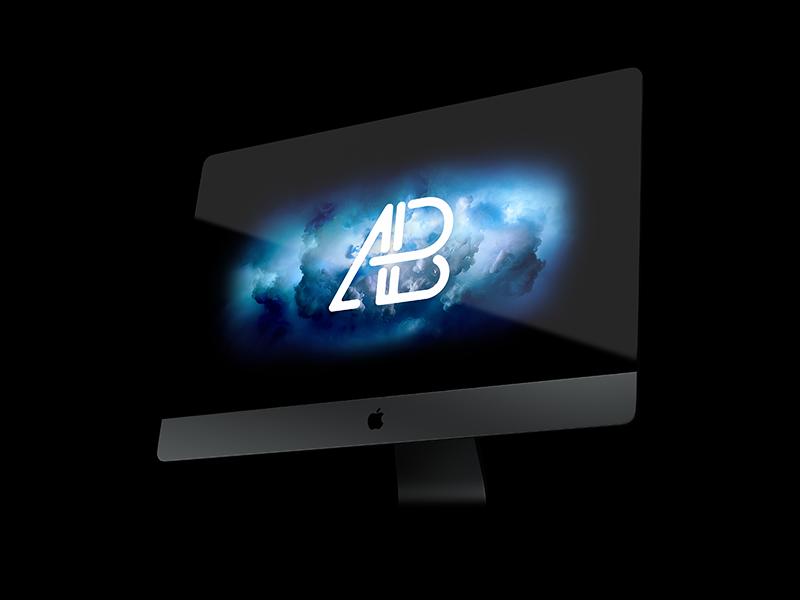 iMac Pro PSD Mockup Vol.3